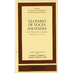 GLOSARIO DE VOCES ANOTADAS