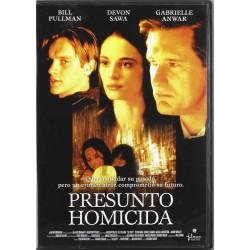 PRESUNTO HOMICIDA