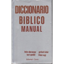 DICCIONARIO BIBLICO MANUAL
