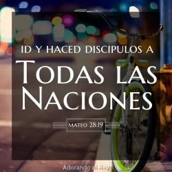 ID Y HACED DISCIPULOS A...