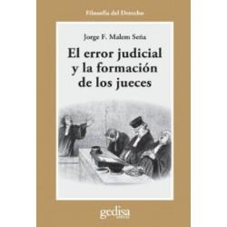 EL ERROR JUDICIAL Y LA...